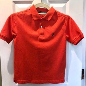 Nautica Boys polo shirt, orange